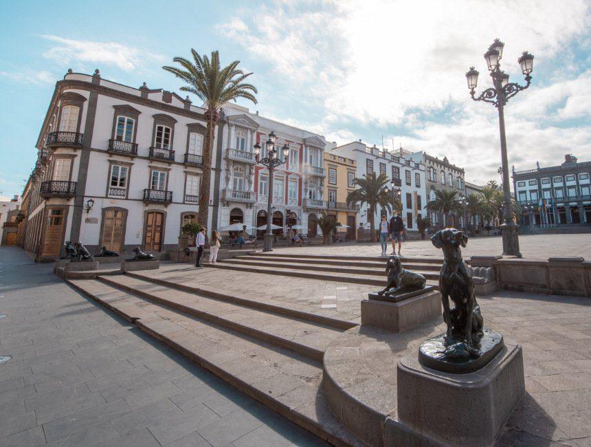 Plaza de Santa Domingo Las Palmas