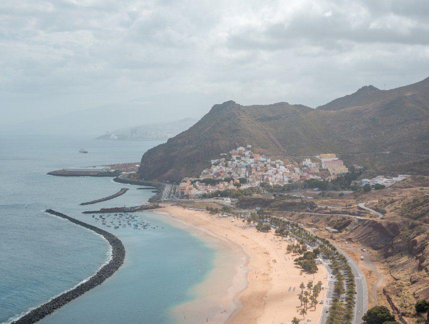 rondreis Canarische eilanden playa de las Teresitas