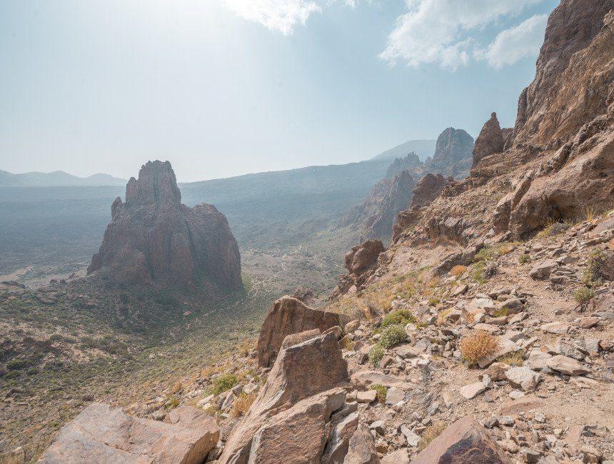 uitzicht Roques de Garcia