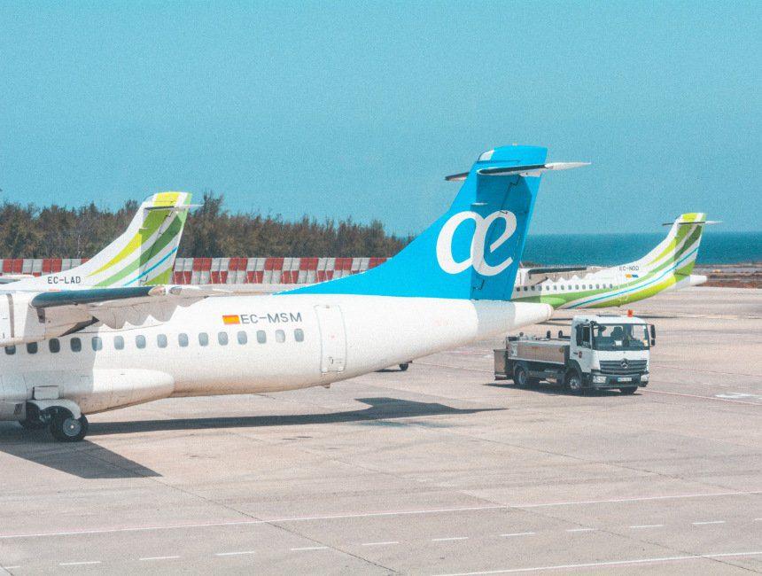 vluchten Canarische eilanden