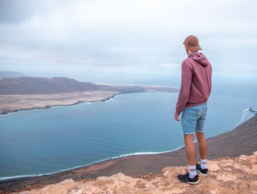 roadtrip Lanzarote uitzicht La Graciosa